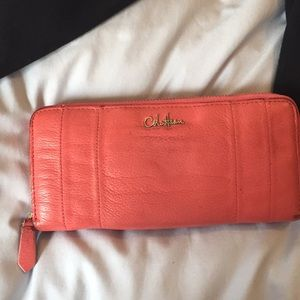 All leather Cole Hann wallet